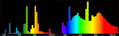 Vergleich von Spektren